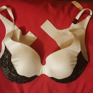 Victoria's Secret Fabulous Lined Demi Lace Bra
